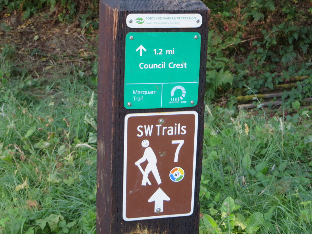 4T Trail Sign - Starting Out