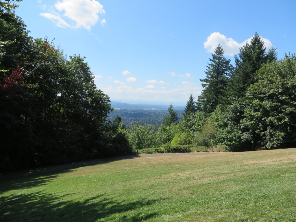 View from Council Crest Park