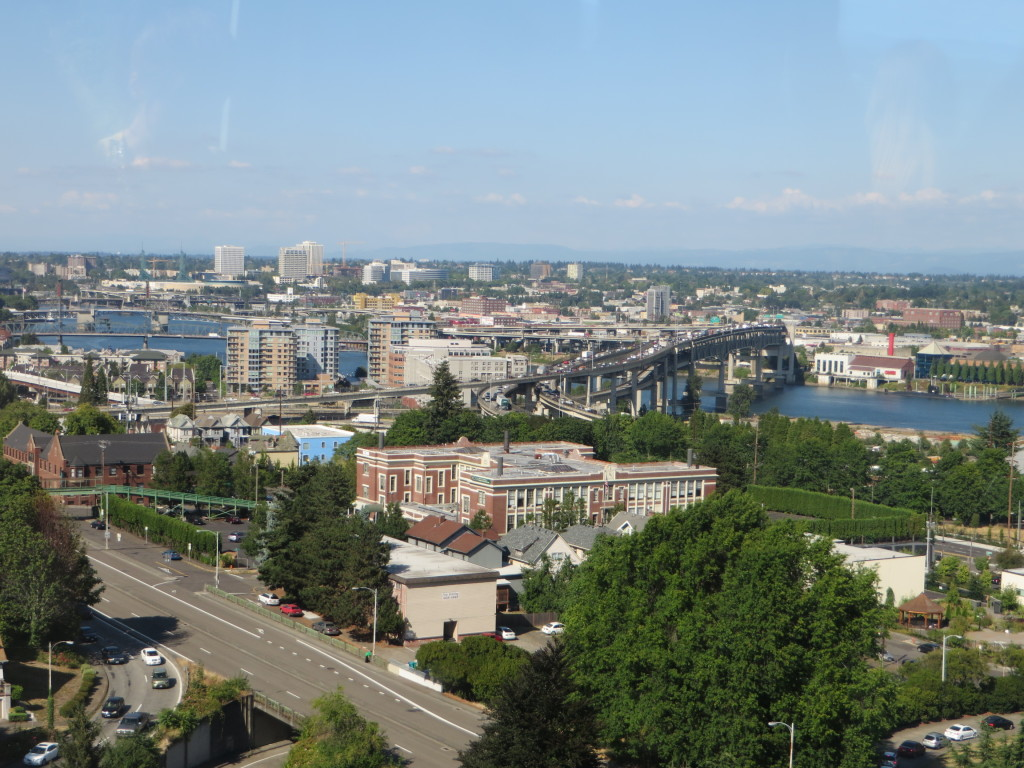 View from Tram