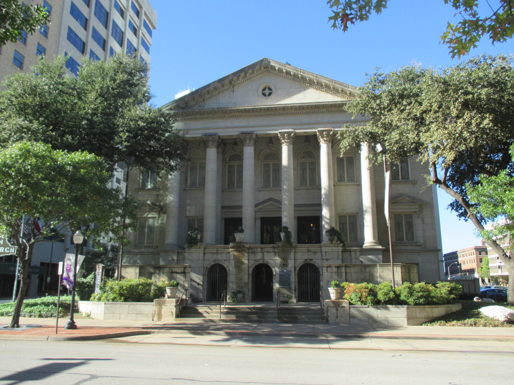 First Christian Church of Fort Worth - established in 1855