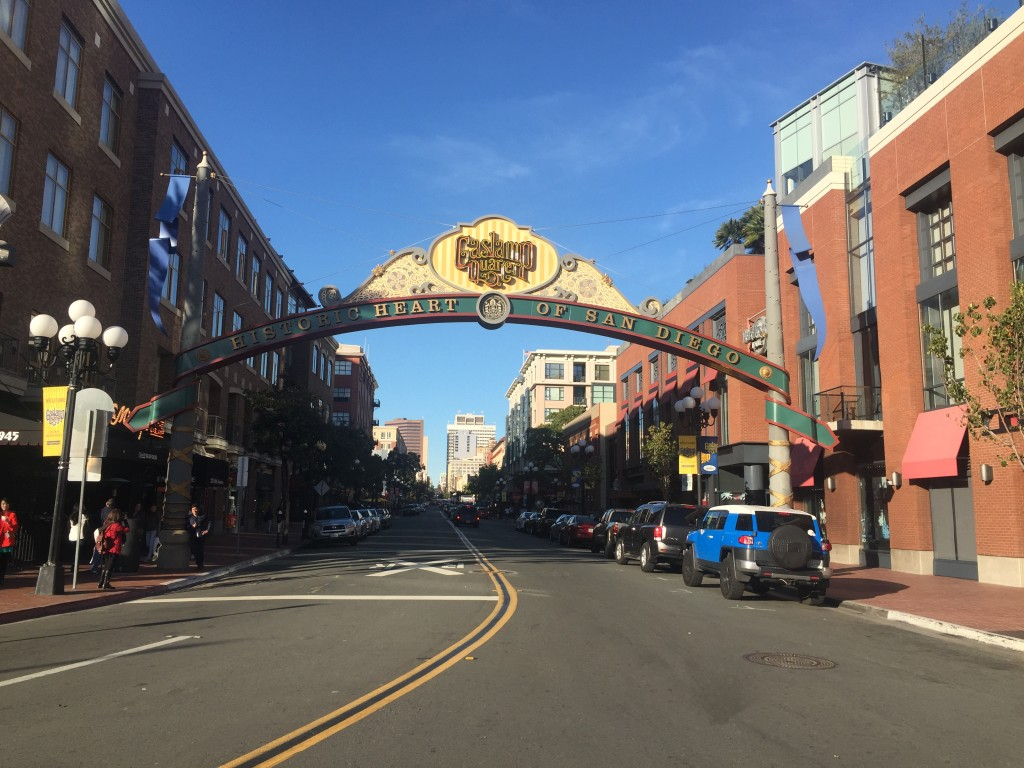 Gaslamp Quarter of San Diego